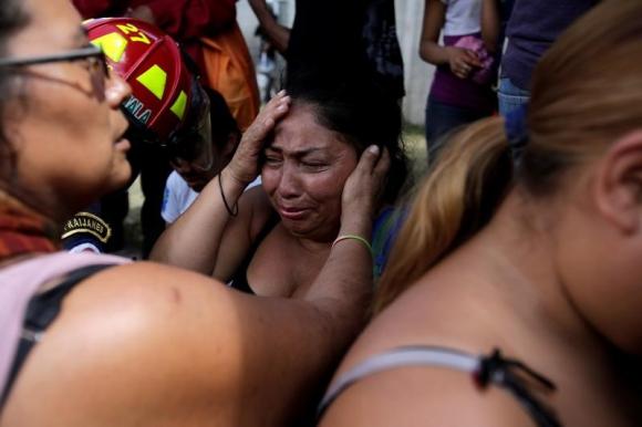 Hay nueve niñas que aún están internadas en el hospital. Foto: Reuters