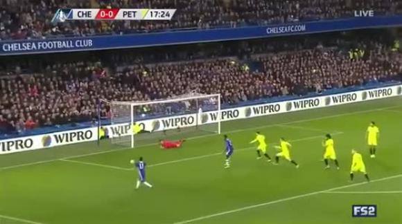 Chelsea 4-1 Peterborough. 08-01-17