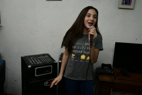 Lara Galarza fue elegida como mejor alumna de la primera temporada de Master Class. Foto: M. Bonjour.