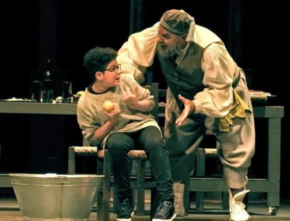 Renzo interpretó a Andrea en Galileo Galilei. Foto: gentileza familia Lima