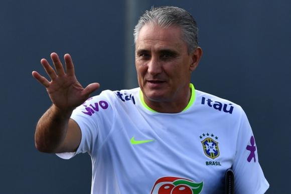 Tite, el entrenador de la selección de Brasil. Foto: AFP