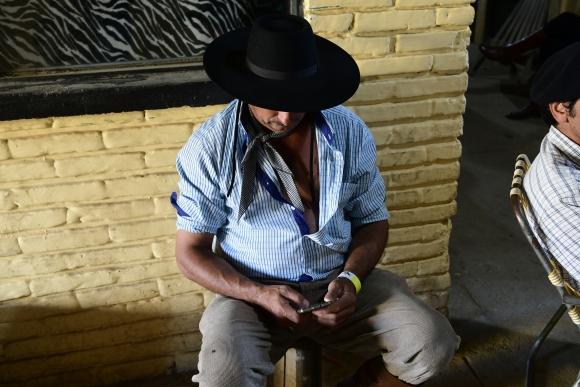 Las actividades siguieron en la Criolla aunque las jineteadas fueron suspendidas. Foto: Marcelo Bonjour