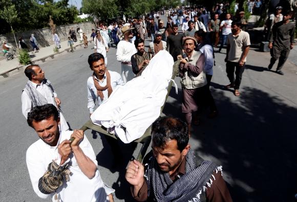 Enfrentamientos en Afganistan. Foto: Reuters