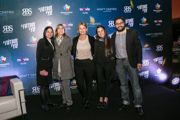 Aexandra Bueno, Carolina Brause, Clarisa Baggi, Patricia Belza, Shai Steinhaus.