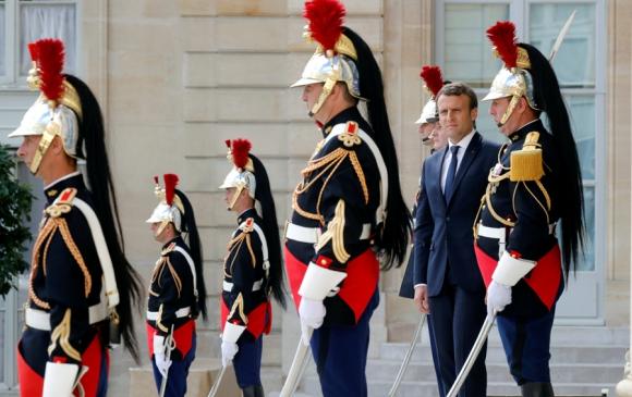 Macron podría alcanzar el domingo una mayoría de 400 de los 577 escaños. Foto: Reuters