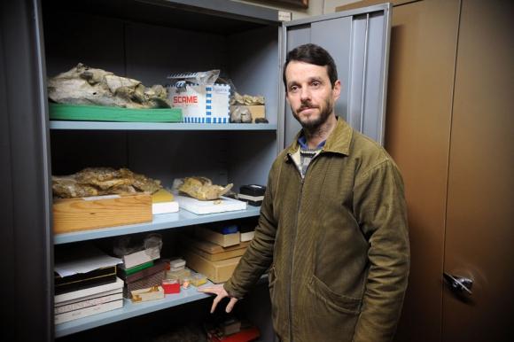 En 2008 Andrés Rinderknecht publicó el paper de paleontología más importante del año. Foto: F. Ponzetto
