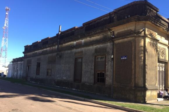 La casa fue adquirida recientemente por la Intendencia de Durazno para restaurarla. Foto: Néstor Araújo.