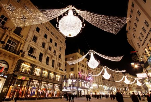 Centro histórico de Viena. Foto: AFP