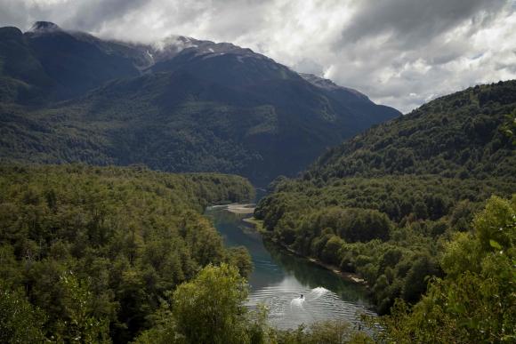 Parque Nacional de los Alerces. Foto: AFP