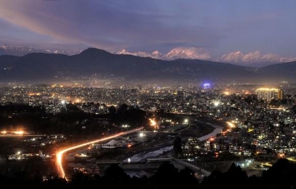 Valle de Katmandú en Nepal. Foto: AFP