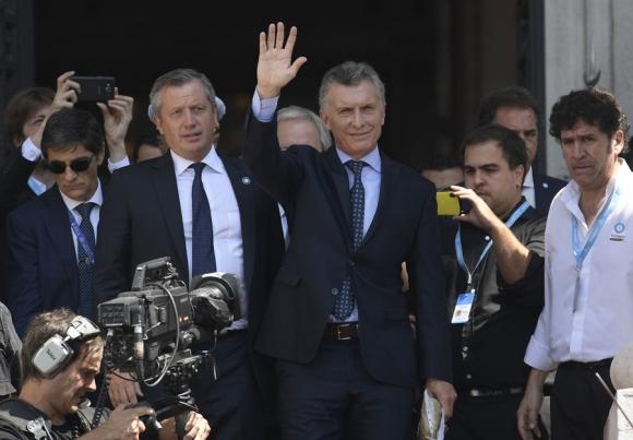 Macri: ayer fue imputado por un juez por conflicto de intereses. Foto: AFP