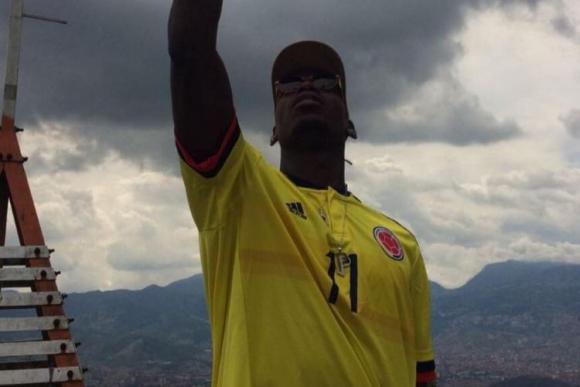 Paul Pogba está en Colombia y se sorprendió por la belleza del país. Foto: Paul Pogba.