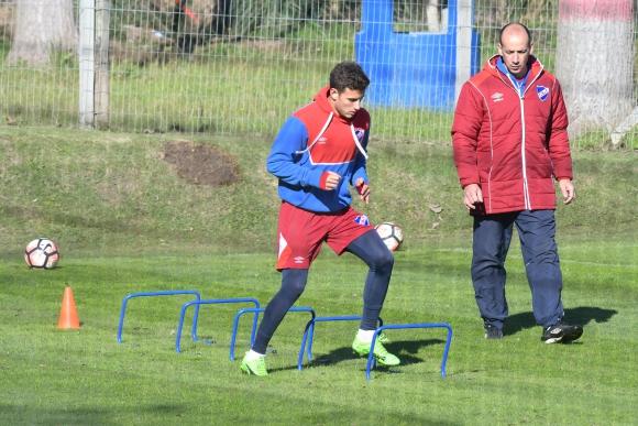 Leandro Barcia acelera su recuperación para regresar. Foto: Ariel Colmegna