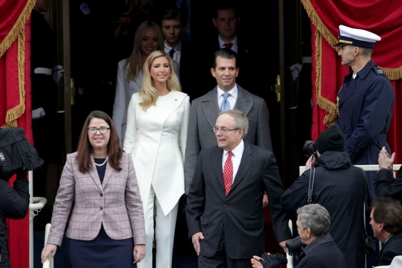 Donald Trump Junior e Ivanka Trump, hijos del nuevo presidente. Foto: REuters