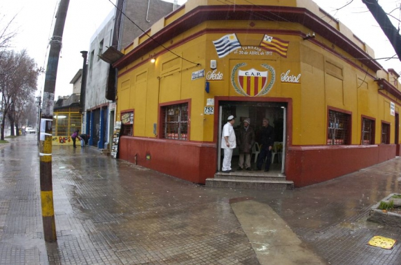 Sede de Progreso ubicada en Carlos María Ramírez esquina Ascasubí. Foto: N. Pereyra