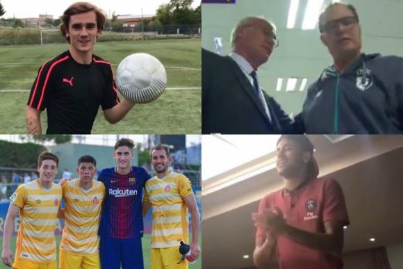 Verratti y Neymar, el desafío a Godín, los cuatro celestes en España y más