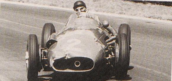 2. Maserati 250 F. Campeón en 1957 bajo la conducción de Juan Manuel Fangio.