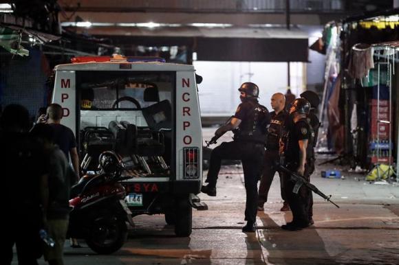 Atentado en Filipinas. Foto: EFE