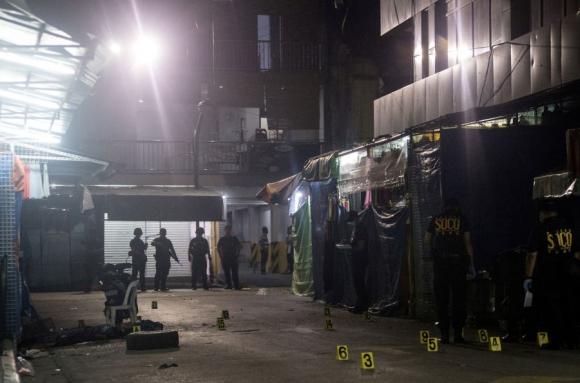 Atentado en las Filipinas. Foto: AFP