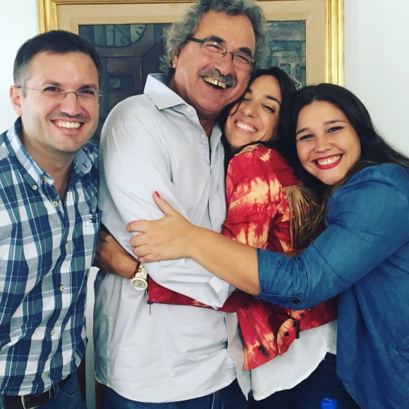 """Paola Bianco y el equipo completo de """"Master Class"""", el reality que se viene. Foto: @paobianco"""