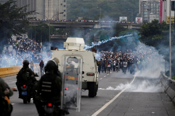 Un tribunal venezolano ordenó la detención de 14 militares de la Republicana. Foto: Reuters