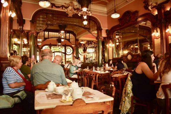 Café Majestic en Oporto. Foto: Mariana Malek