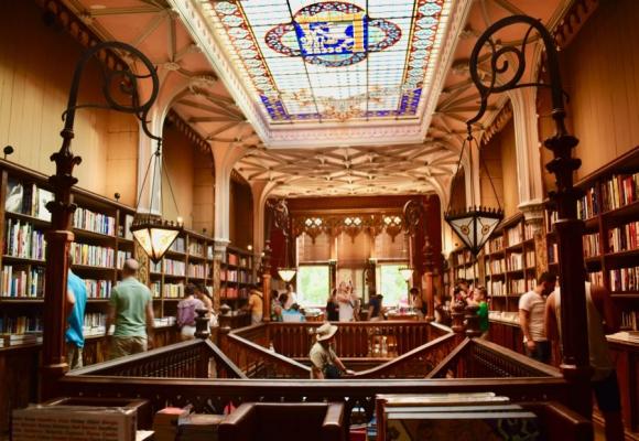 Livraria Lello en Oporto. Foto: Mariana Malek
