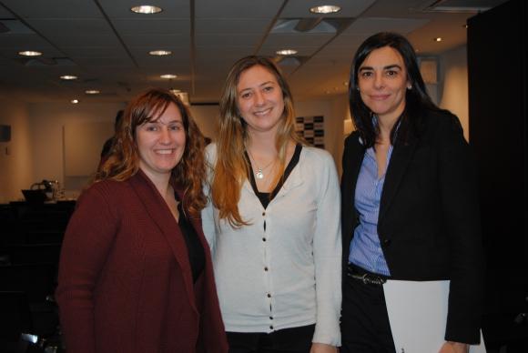 Adelita Malespino, Dayana Larzabal, Johanna Marrero.