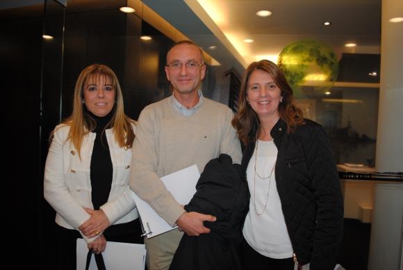 Mara Pisano, Álvaro Molinari, Lucía Cauteruccio.