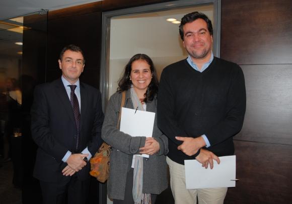 Ricardo Parpal, Ana Laura Lavepa, Alejandro Benítez.