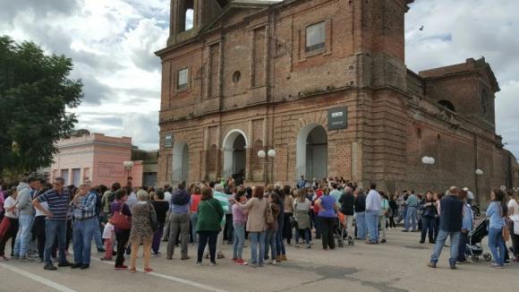 Procesión: Iglesia Católica y Valdense se unieron  en la conmemoración. Foto: D. Rojas