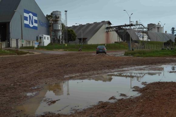 Todos los actores de los caminos que conectan al puerto de Nueva Palmira reclaman obras. Foto: D. Rojas