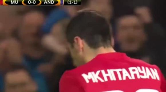 Manchester United 2-1 Anderlecht - Europa League