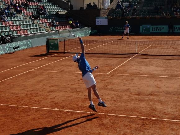 Marcel Felder en acción