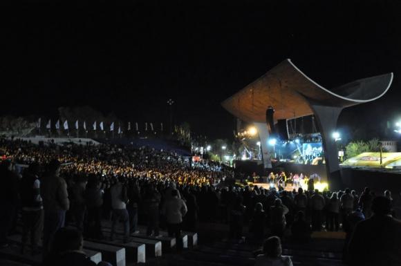 El Anfiteatro de Paysandú recibirá espectáculos de acá y de Argentina. Foto: archivo El País