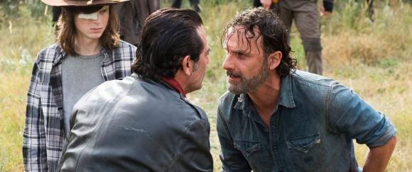 Walking dead: En esta temporada se enfrentarán Negan y Rick. Foto: Difusión