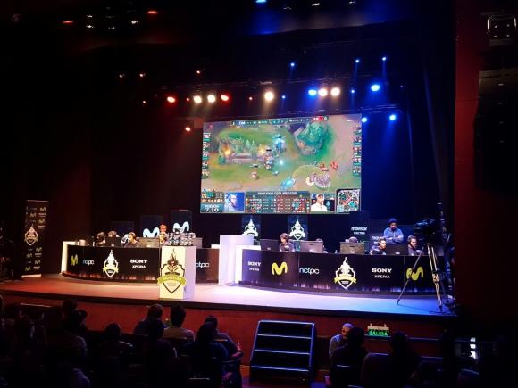 Movie. Albergó recientemente un torneo de videojuegos para Movistar. (Foto: Gentileza Movie)