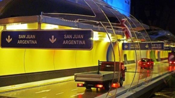 Así será el túnel Agua Negra. Foto: Tiempo de San Juan
