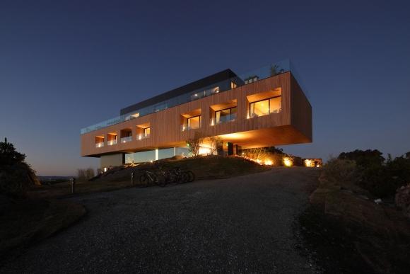 Hotel Fasano. Combina el entorno natural del campo con el mar de Punta del Este. Gentileza: Hotel Fasano