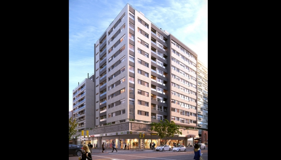 142, serán la unidades residenciales que tendrán las tres torres del Nostrum DIeciocho. Foto: Difusión