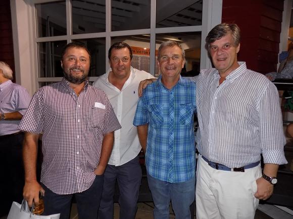 Raúl Villamil, Federico Slinger, Daniel Fontana Rosa, Diego Baldomir.