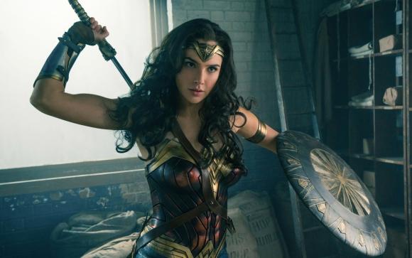 La actriz Gal Gadot  interpretando a Wonder Woman. Foto: Difusión