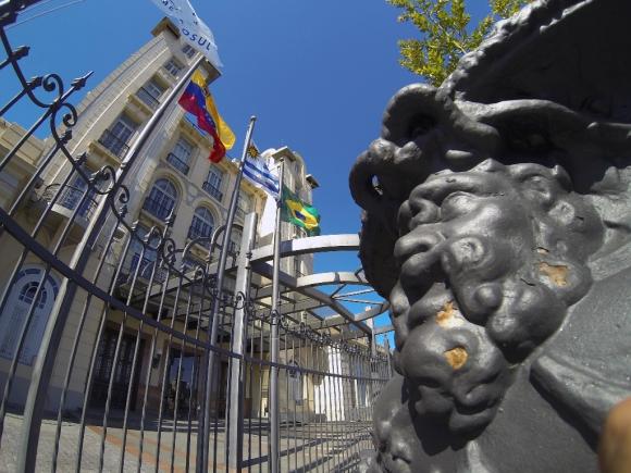 Sede del MercoSur. foto: Fernando Ponzetto-
