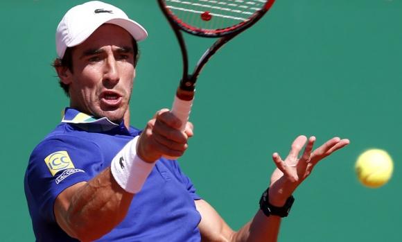 Pablo Cuevas ganó un partidazo en Monte Carlo