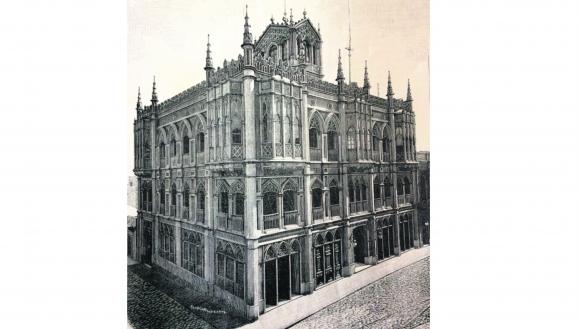 Palacio Gómez. Foto: Centro de Fotografía