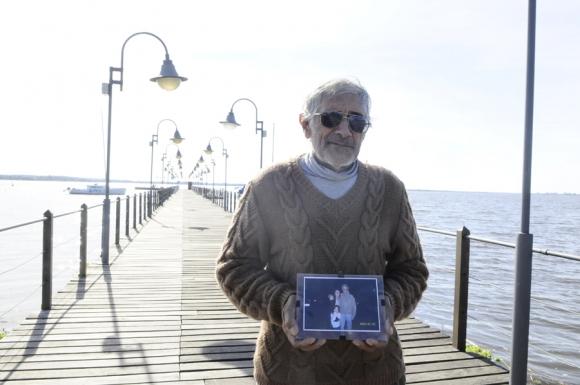 Carlos Zimmermann, pescador y amigo del Presidente Vázquez. Foto: Darwin Borrelli