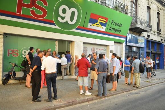 Partido Socialista se reunió el pasado fin de semana para evaluar la actual dirección. Foto: G. Pérez