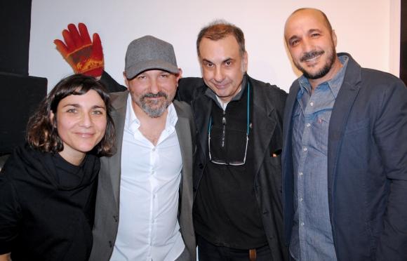 Romina Slavich, Federico Arnaud, Fermín Hontou, Diego Velazco.