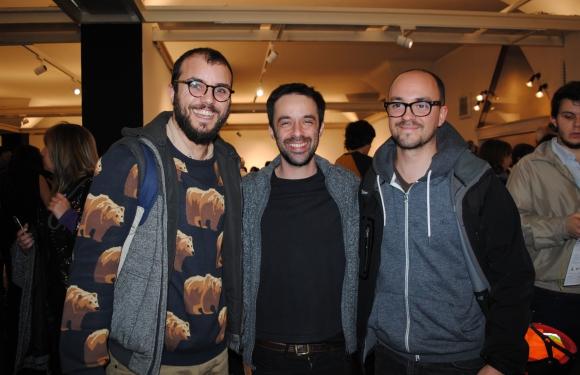Leandro Mangado, Matías Nin, Rodrigo Camy.