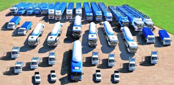 La empresa Riogas continúa entregando nuevas unidades a su flota.